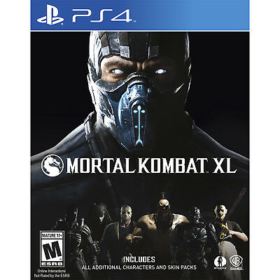 Mortal Kombat XL PS4 [Brand New]