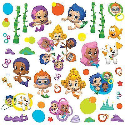 BUBBLE GUPPIES 44 BiG Wall Decals DEEMA GIL OONA Room Decor Stickers MERMAIDS - Bubble Guppies Room Decor