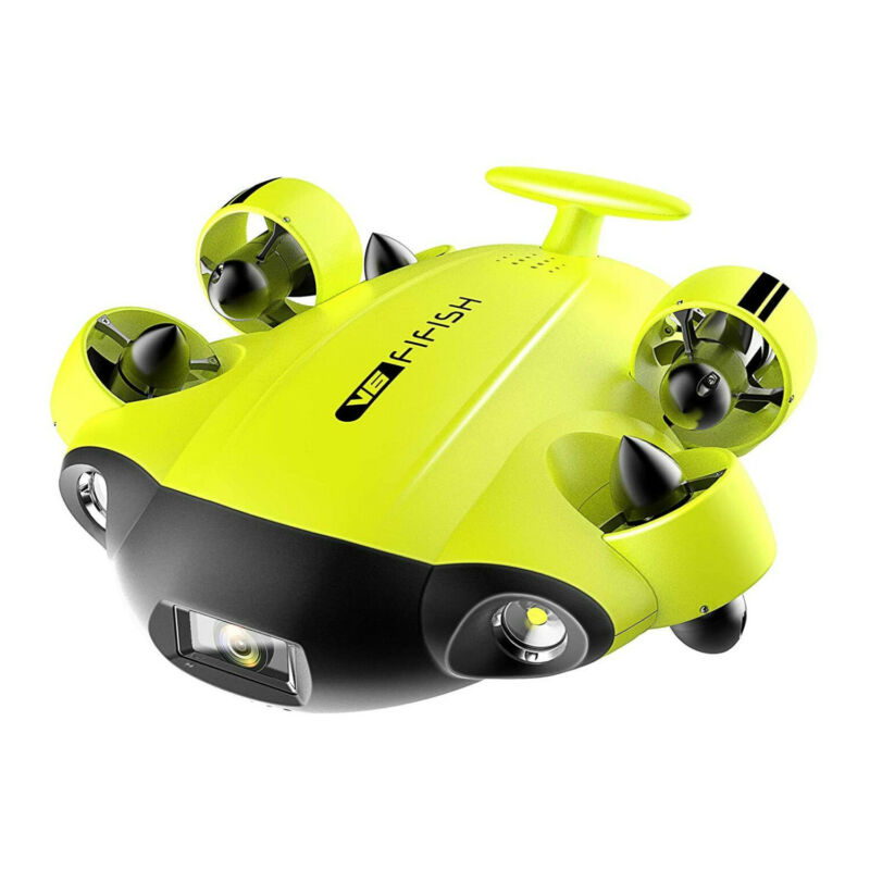 QYSEA FIFISH V6 Underwater ROV with Omnidirectional Movement and 4K UHD Camera