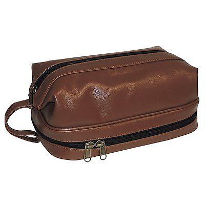 Dopp Toiletry Travel Kit w/ Zip Bottom w/ Travel Bonus Accessories Cosmetic Bag