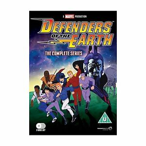Defenders of the Earth: The Complete Series - DVD NEW & SEALED (7 Disks)