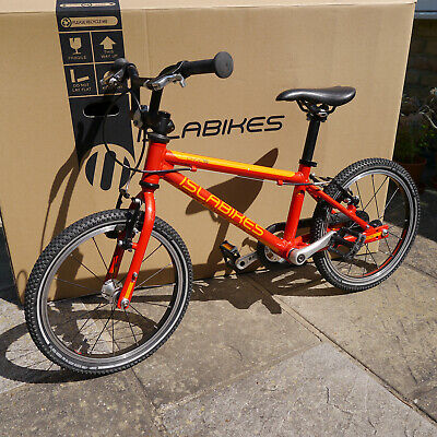 Islabike CNOC 16 Red & Orange Child's Bike (with original box)
