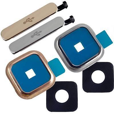 Ersatzteil Zubehör f Samsung Galaxy S5 SM-G900F Rahmen Abdeckung Kamera MicroUSB