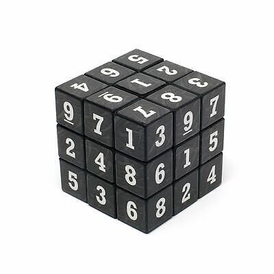 SUDOKU Math Puzzle Cube 3x3 Rubiks Rubics Rubix Number Game Toy Brain Teaser  -