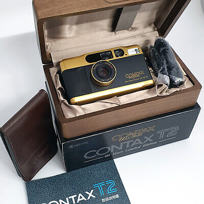 Contax T2 Gold 60 Years (brand new)