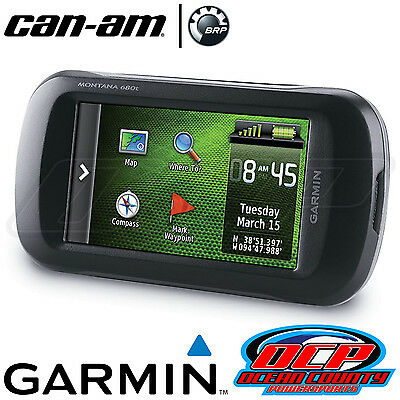 NEW GENUINE CAN-AM 2013 2014 2015 RENEGADE 500 GARMIN MONTANA 680T GPS & MOUNT