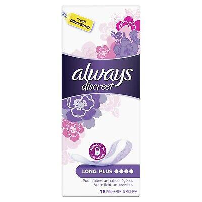 lot 3 x 18 Protège-Slips pour fuites urinaires ALWAYS