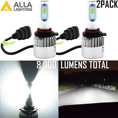 Alla Lighting CSP LED Best Seller 9012 Headlight Replacement Bulb,Xenon White