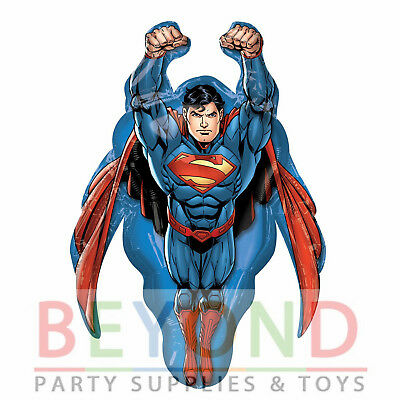 Superman Supershape Mylar Foil Balloon Party Supplies - Superman Balloon