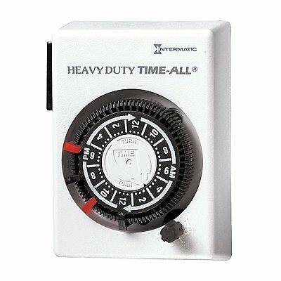 Intermatic HB112C 15A, 240 volts Heavy Duty Air Conditioner and Appliance Timer
