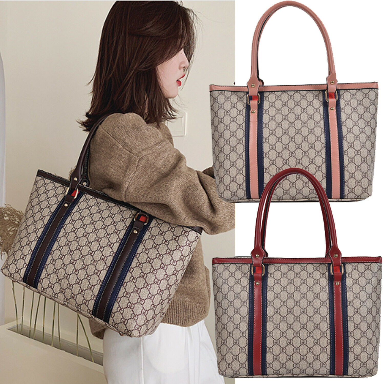 Women PU Leather Handbag Ladies Shoulder Bag Coin Purse Brie