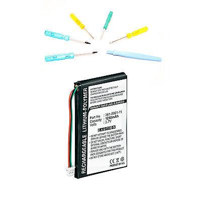 Battery w/ Tools for Garmin Nuvi 255W Nuvi 265W Nuvi 205W Nuvi 200 205 260W 200w