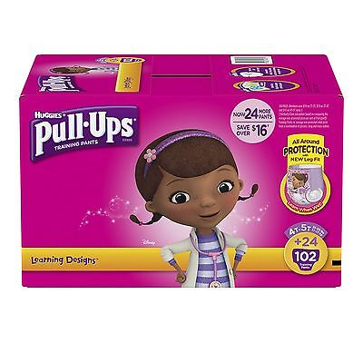 Huggies Pull-Ups Training Pants for Girls PICK SIZE - Girls Pull Ups