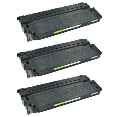 3pk Black E-40 For Canon E40 Toner Cartridge Pc160 Pc170 ...