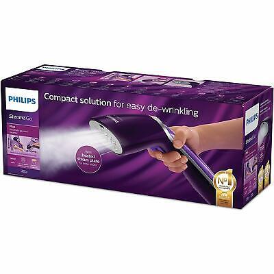 Philips gc363/30 Steam&Go Plancha Vertical y Horizontal Cepillo Vapor 24 g/min
