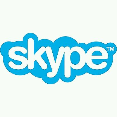 Skype Up to 1000 Minutes $27.69 Credit Voucher Instant Delivery!