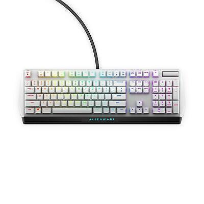 Alienware AW510K Low-Profile RGB Mechnical Gaming Keyboard US Layout - White