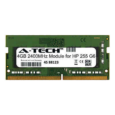 A-Tech 4GB 2400MHz DDR4 RAM for HP 255 G6 Laptop Notebook Memory - Memory Upgrades Notebook Ram