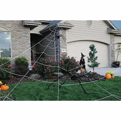 Mega Spider Web Outdoor Yard Halloween Decoration - Terrify Your - Halloween Mega Spider Web