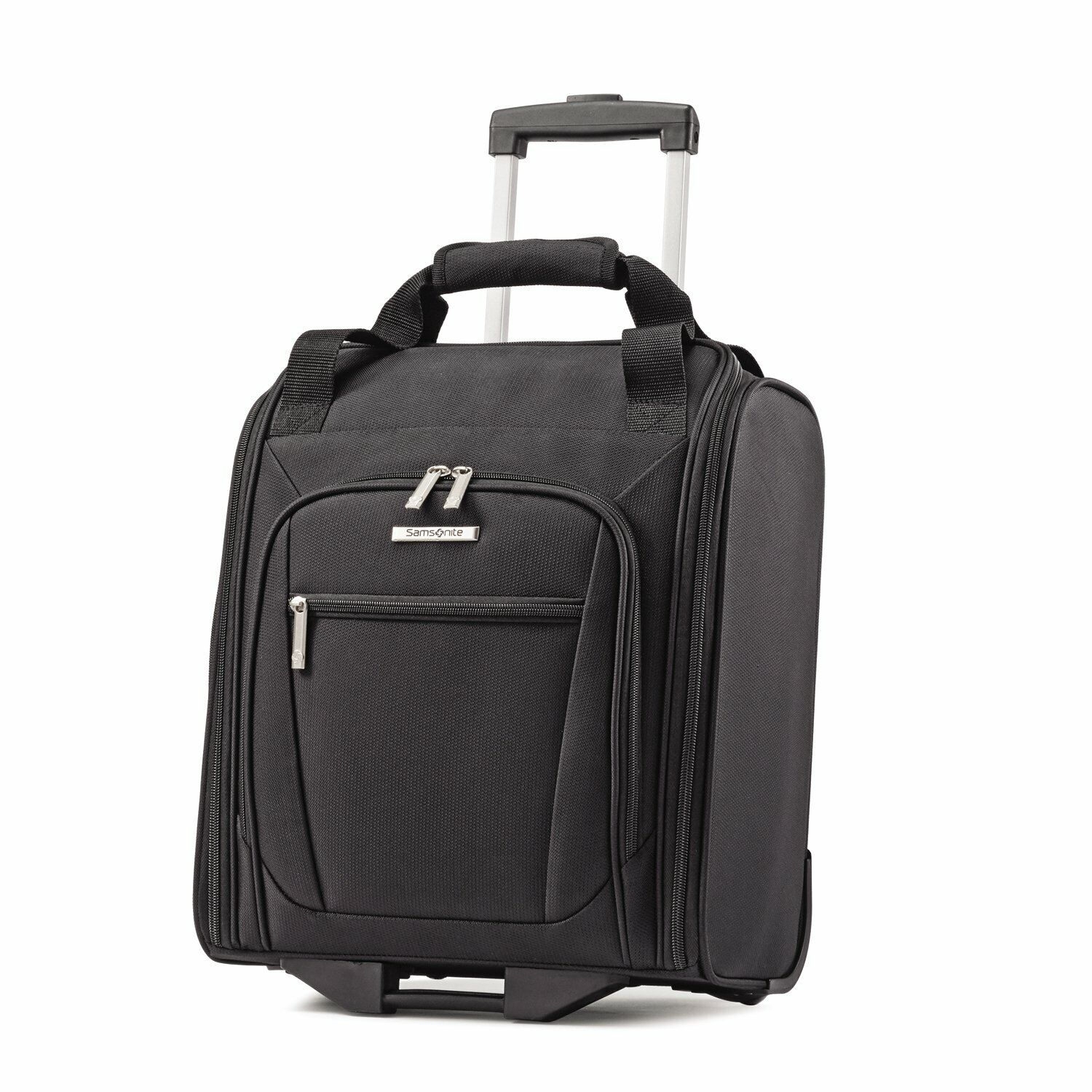Samsonite Ascella Wheeled Underseat Carry On Luggage Black