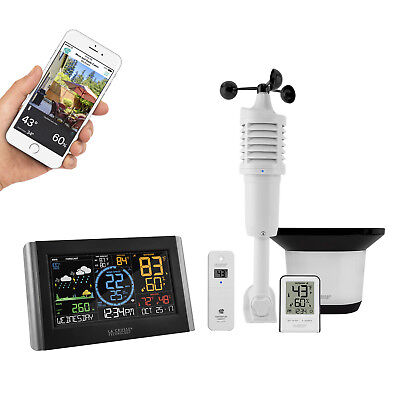 C84428 La Crosse Technology Professional Remote Monitoring Color Weather Station