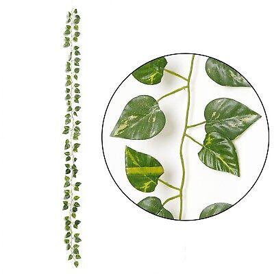 (Artificial Ivy Leaf Climb Plants  Home Flowers Decor Plastic Fake Foliage )