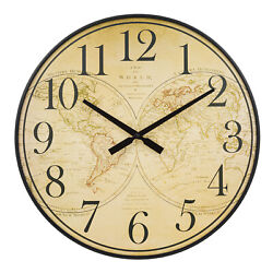 BBB81397 La Crosse Clock Co. 21 Voyager Plastic Open Face Analog Wall Clock