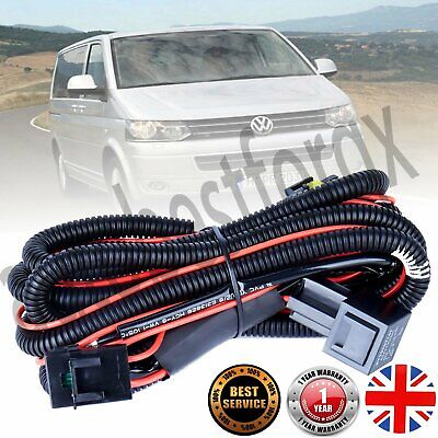 FRONT FOG LIGHT LAMP WIRING LOOM HARNESS KIT FOR GOLF MK 5 VARIANT