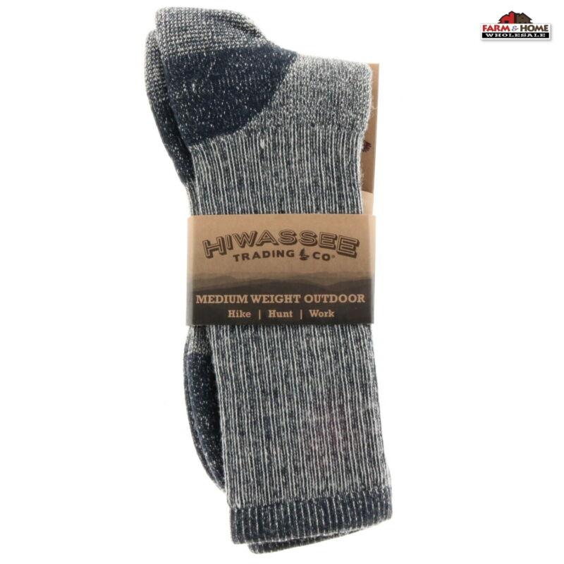 Hiking Crew Socks Wool Large ~ New