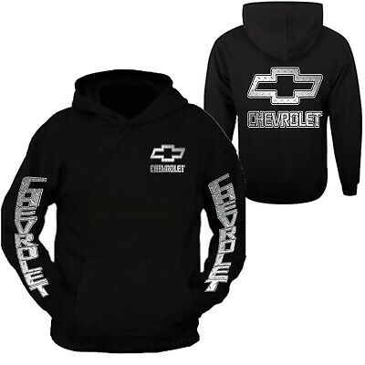 Chevy Hoodie Chevrolets Hooded Sweatshirt Front & Back S - 3XL