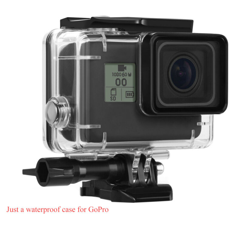 For GoPro Hero 7 Black/6/5 Waterproof Housing Case Protective Shell with Bracket