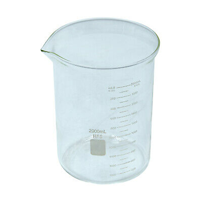 Hfsr 2l Graduation Glass Beaker With Spout