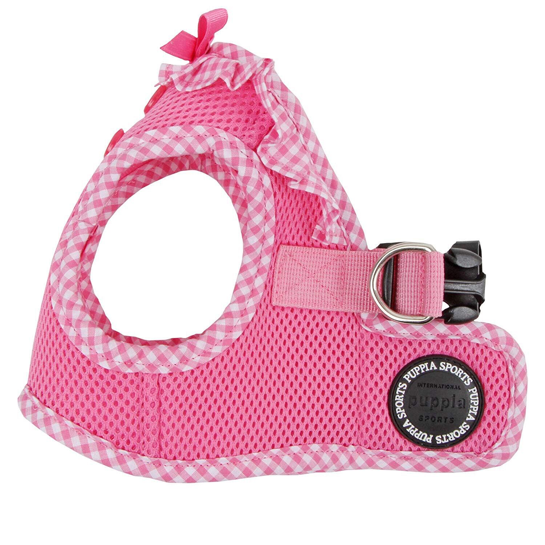 Puppia - Dog Puppy Mesh Harness Soft Vest - Vivien - Pink -