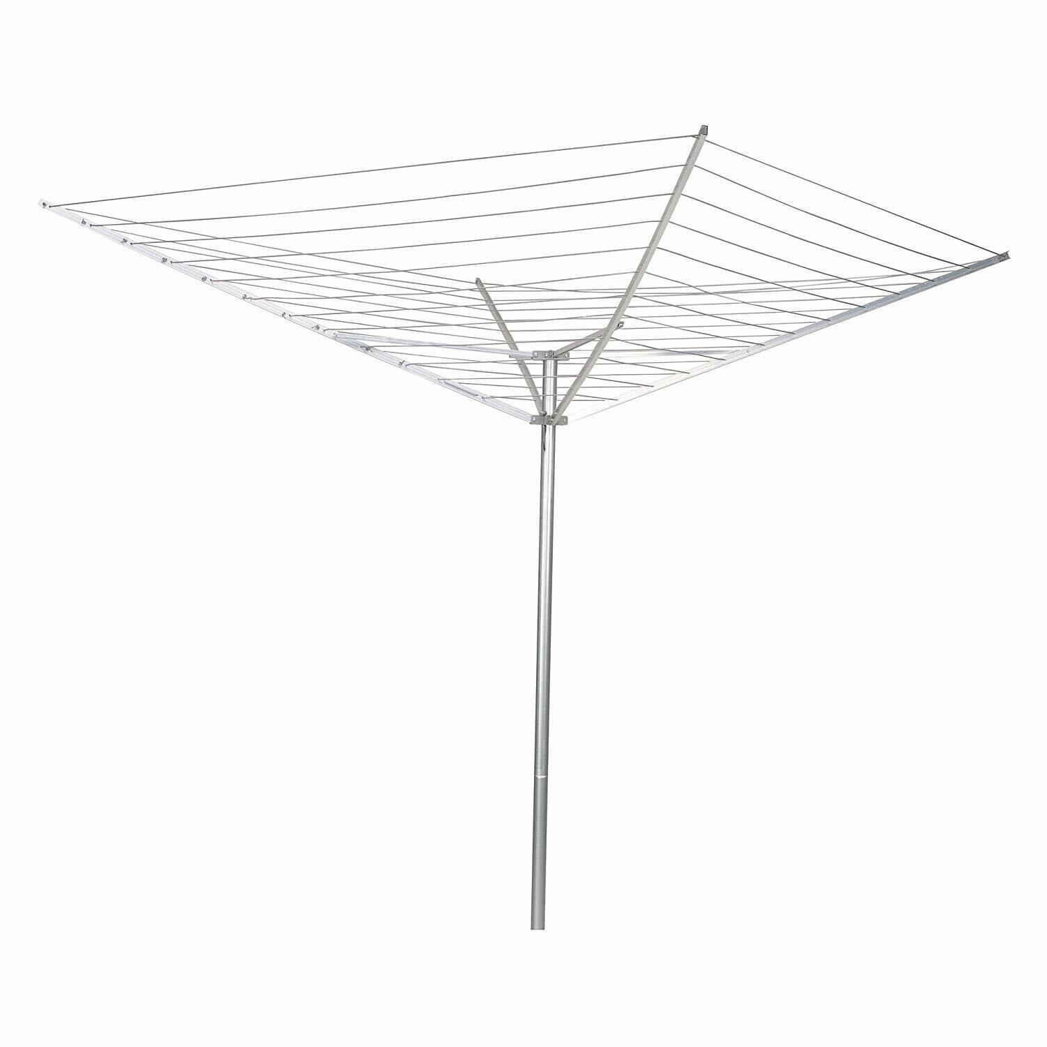 Household Essentials 12-Line Outdoor Umbrella-Style Clothes