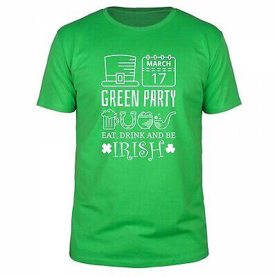 St Patricks Day Green Party Irland Irish Shamrock - St Patricks Party