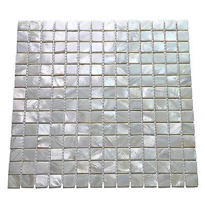 Oyster Mother Of Peal Shell Mosaic Tile For Kitchen Backsplashes   Shower Walls