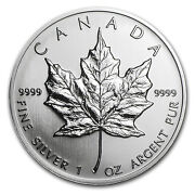 1993 Canadian Silver Maple Leaf