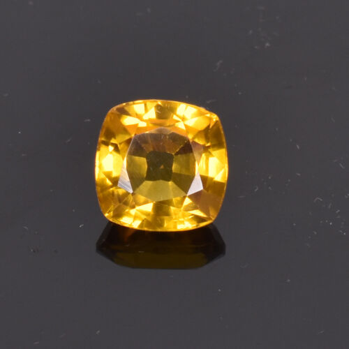 7.35 Ct Natural Oregon Flawless Sunstone Yellow Golden Color Certified Gemstone