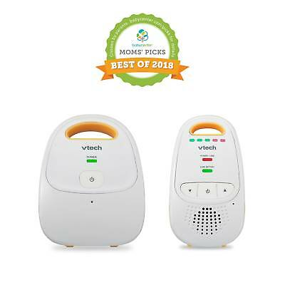 VTech DM111 Audio Baby Monitor with up to 1,000 ft Range 5-Level Sound Belt Clip