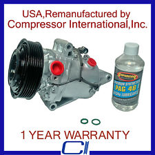 2009 Suzuki SX4 Air Conditioning A//C Compressor Assembly 09 OEM