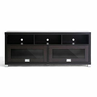 - Wood TV Cabinet Stand Furniture Rack Console 2 Doors 3 Shelves LCD LED up to 65