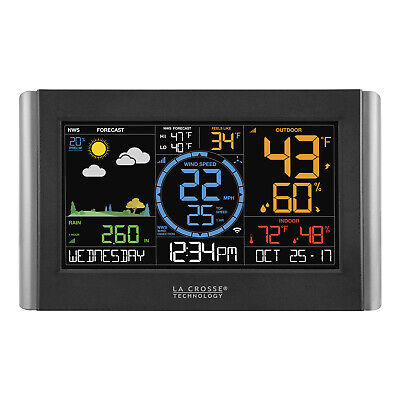 La Crosse Tech V22-WTH Complete professional Remote Monitoring Weather Station Complete Wireless Weather Station