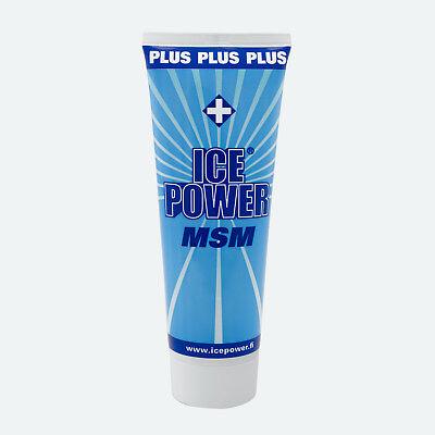 Plus Therapie (Ice Power Plus (MSM) Cold Gel | 200 ml | Kühlgel | Kälte Schmerz Physio Therapie)