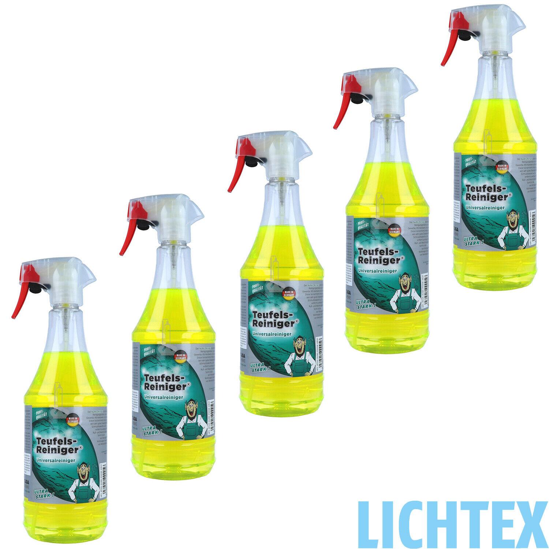 5L TUGA TEUFELREINIGER Industriereiniger Reinigungsmittel Universal Silikonfrei