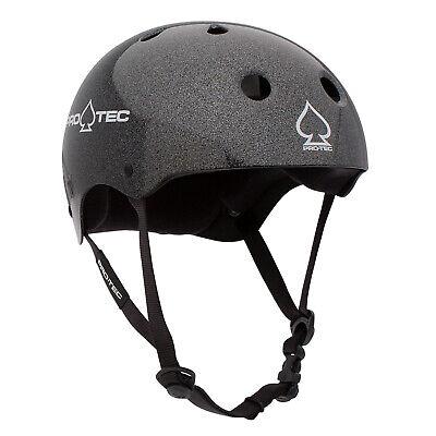 Pro-Tec Classic (Black Metal Flake) Skateboard Helmet