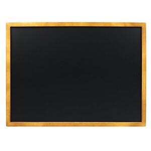 VersaChalk Porcelain Steel Wall Mounted Chalkboard with Magnetic Surface - 24