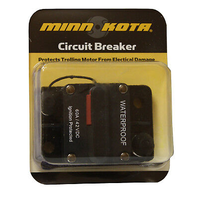 Minn-Kota MKR-19 Trolling Motor Circuit Breaker 60A Waterproof 1865106