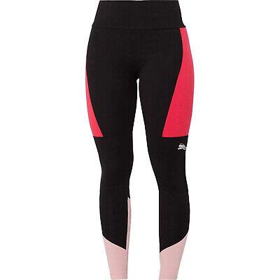 Puma Womens Ladies Training Fitness Training Legging Tight Black/Pink