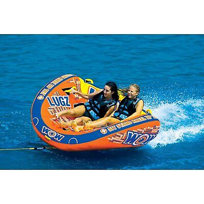 Lugz 2 Person Towable Tube by WOW