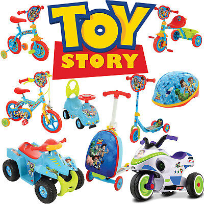 Toy Story Official Toys - Scooter Bike Trike Ride-on Quad Helmet and more!